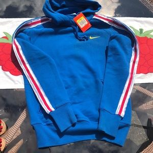 Nike Women's Hoodie NWT Small Red White & Blue🇺🇸